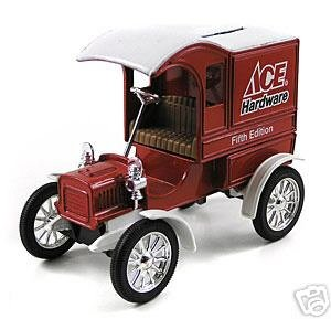 Ace Hardware 1:25 1905 Ford Delivery Car Bank ERTL