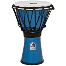 Toca TFCDJ-7MB Freestyle Colorsound 7-Inch Djembe - Metallic Blue