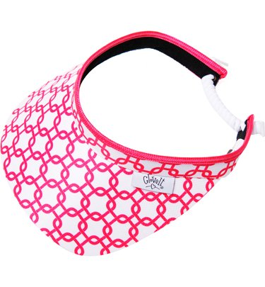 Glove It Women's Pink Link Visor by GloveIt