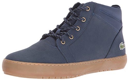 Lacoste Women's Ampthill Chukka 416 1 Spw Fashion Sneaker, Navy, 8.5 M US