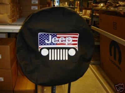 """JEEP Spare Tire Cover TJ,JK Wrangler, KJ Liberty 32"""""""