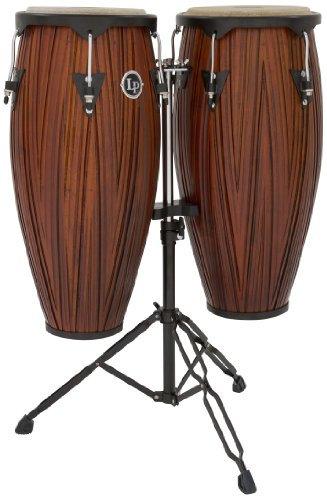 Set Drum Conga (Latin Percussion LP646NYCMW LP City Wood 10