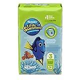 Huggies Pañal para Nadar Little Swimmers, Pequeño, 12 Piezas, Paquete de 2