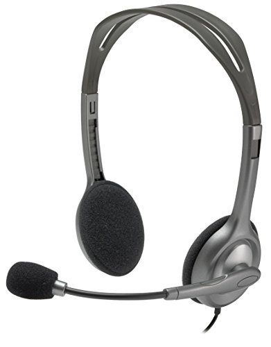 Logitech H111 On-ear Grey