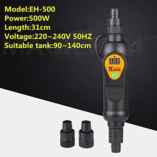 Viet-NA Temperature Control Products - Sunsun EH-300 EH-500 110V/220V Aquarium Fish Tank Adjustable Temperature External Heater Connecting Filter or Pump 1 PCs (Series Pumps 300)
