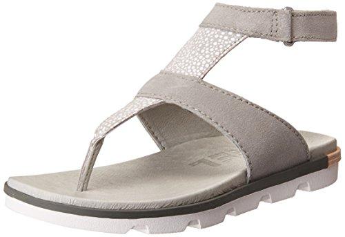 Bianco Torpeda 7 Dove Sandalo Cinturino Sorel Delle Caviglia Donne Alla Fqdvq8H