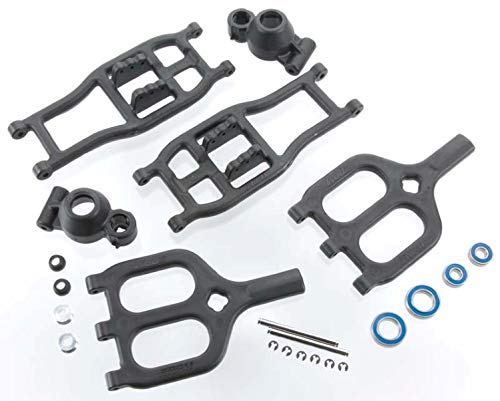RPM 80942 True Track Rear A-Arm Black T/E-Maxx for sale  Delivered anywhere in USA