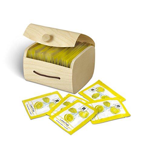 Nabila K Biodegradable Lemon Wipe Towelettes, 20/Box