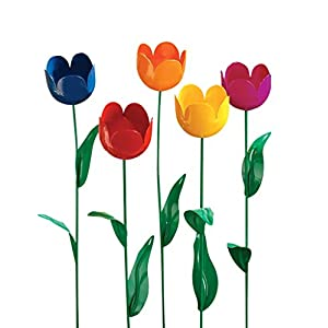 Miles Kimball Artificial Tulips - Set Of 5 42