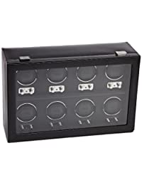 Wolf Designs 270802 Heritage Module 2.1 Eight Watch Winder with Cover
