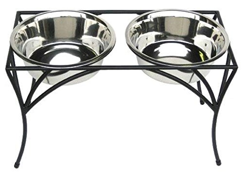 Arbor Double Bowl Elevated Diner - 7