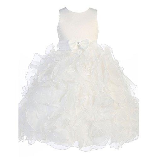 3d embellished flower dress - 1