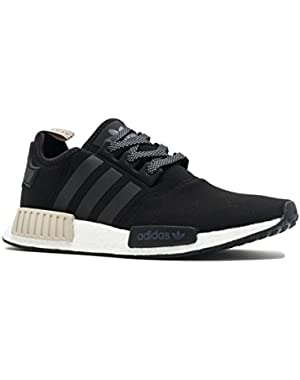 AdidasMen's ORIGINALS NMD_R1 SHOES All Black/White