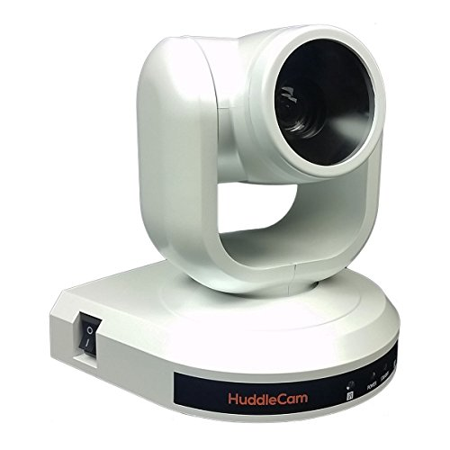 HuddleCamHD-20X USB 3.0 PTZ 1080p Video Conference Camera - White