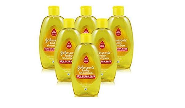 Johnsons Baby Shampoo 300 ml - Pack of 6 by Johnson and Johnson: Amazon.es: Alimentación y bebidas