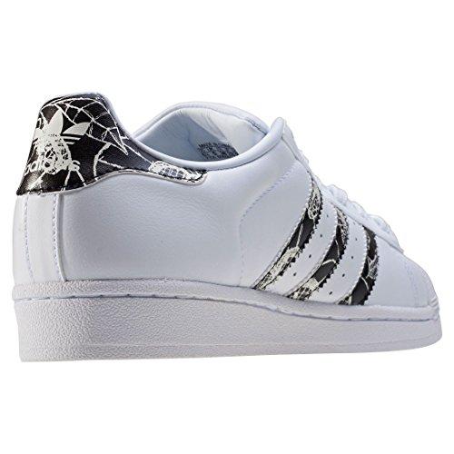 Adidas Femme W Superstar cblack Sneakers spray Basses Blanc ftwwht BqASTwnB