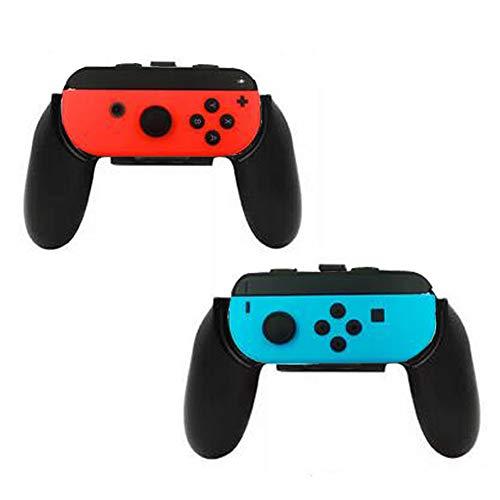 Walway Joy-Con Grips { Set of 2 } Wear-resistant Controller Grips/ Joy-Con Handle/ Thumb Grips { L& R } for Nintendo Switch