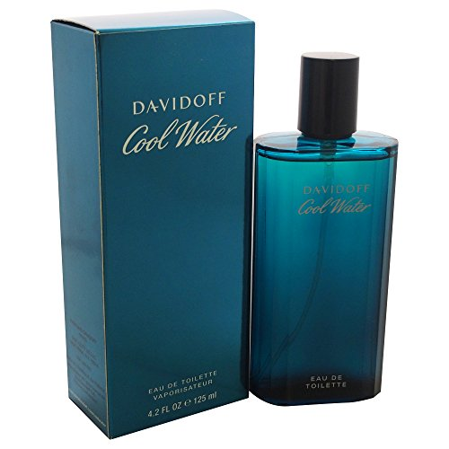 Cool Water By Davidoff For Men. Eau De Toilette Spray 4.2 Ounces
