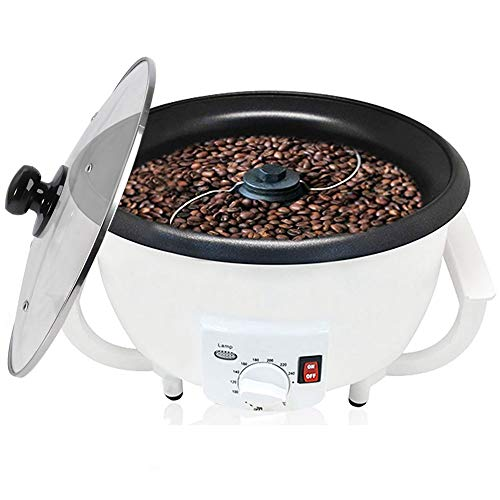Coffee Bean Roaster, Coffee Roaster Machine for Home Use Cashew Chestnuts Peanut Roasting Machine 110V by Angelloong