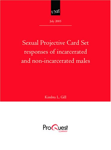 Sexual projective card set