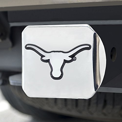 FANMATS  14999  NCAA University of Texas Longhorns Chrome Hitch Cover ()