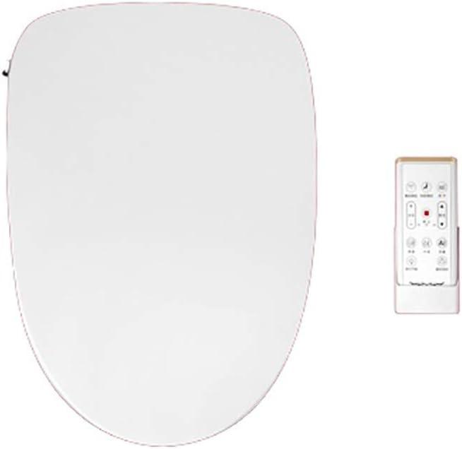 細長いトイレ用ビデシート電子加熱式シートリモートコントロールおよびキー操作温風乾燥機および温度制御洗浄機能ナイトライト抗菌