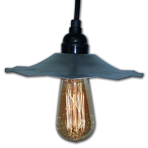 Galvanized Pendant Light Shades - 5