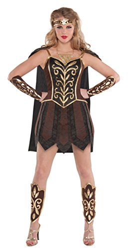 amscan Adult Warrior Princess Costume - Medium