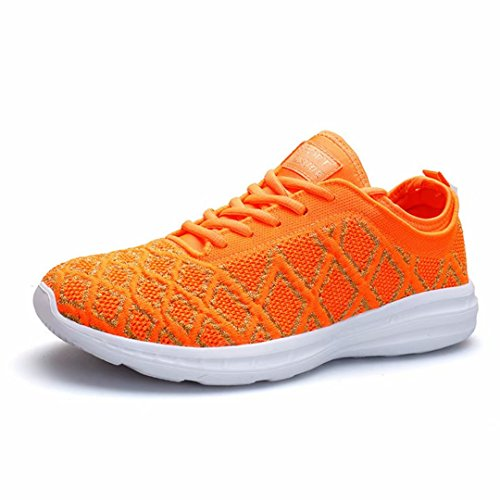 Tomate Walkingschuhe Turnschuhe Rutschfeste Damen Kleine Größe 36 Mesh Wanderhalbschuhe Atmungsaktives Sneaker Orange 44 dZWBnqO1