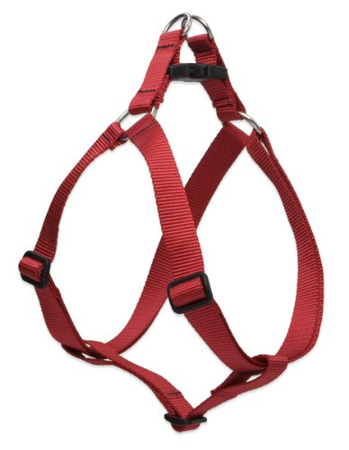 "LupinePet Basics 1/2"" Red 12-18"" Step In Harness for Small Dogs"