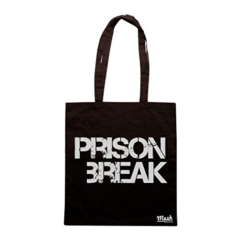 Borsa PRISON BREAK LOGO - Nera - FILM by Mush Dress Your Style