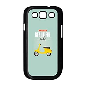 Life Is A Beautiful Ride Typography5 Samsung Galaxy S3 9 Cell Phone Case Black Fantistics gift A_015338