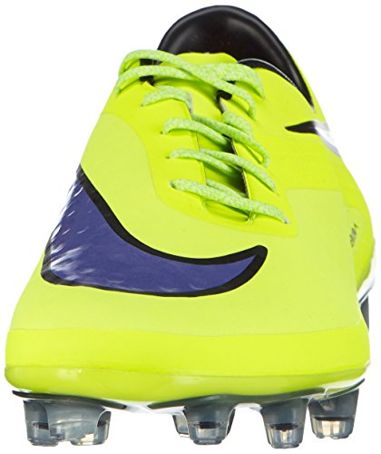 Nike Mens Hypervenom Phatal Fg Soccer Cleat Volt / Hot Lava / Persian Violet
