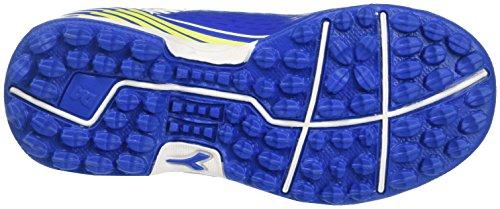 Diadora 7fifty Tf Jr Ve, para los Zapatos de Entrenamiento de Fútbol Unisex Niños Azul (Azzurro/bianco)