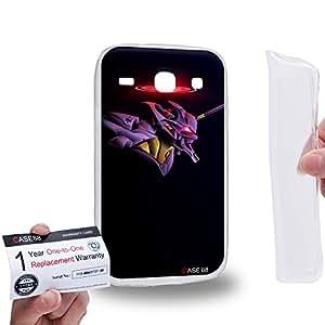 Case88 [Samsung Galaxy Core i8260 / i8262] Gel TPU Carcasa/Funda & Tarjeta de garantía - Neon Genesis Evangelion Shinji Ikari Evangelion Unit-01 EVA-01 1091