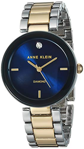 Anne Klein Dress Watch (Model: AK/1363NVTT)