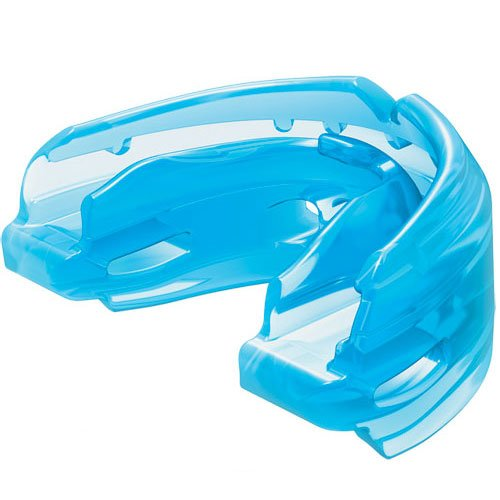 Double Braces Youth Blue Strapless Mouthguard by Authentic Sports Shop