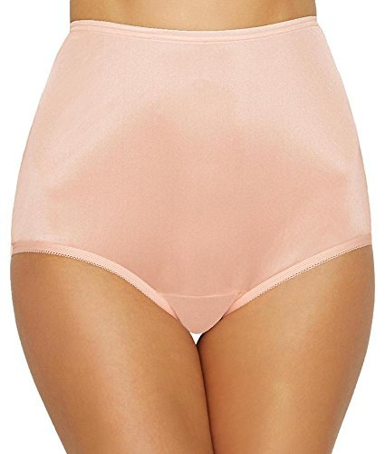 Vanity Fair Women's Perfectly Yours Ravissant Tailored Brief Panty 15712, Just Peachy, 3X-Large/10