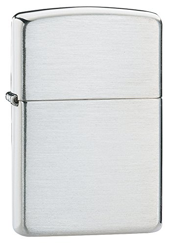 zippo-brushed-sterling-silver-lighter