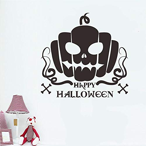 OTTATAT Wall Stickers Flowers 2019,Happy Halloween Pumpkin Home Removable s Art Decor Easy to Stick Wedding Night BeachGift for Girl On Sale ust Avengers Assemble -