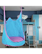 CO-Z 2 Person Hammock Pod Swing with 2 Extensional Straps, Sensory Swing Hanging Chair Seat for Adult & Kids, Indoors and Outdoor Deck Patio Porch, 170 lb