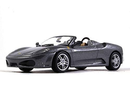 Ferrari F430 Spider Gray Color 1:43 Scale Diecast Model Sports Car 2004 Year