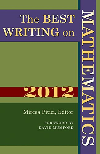The Best Writing on Mathematics 2012 (The Best Writing On Mathematics)