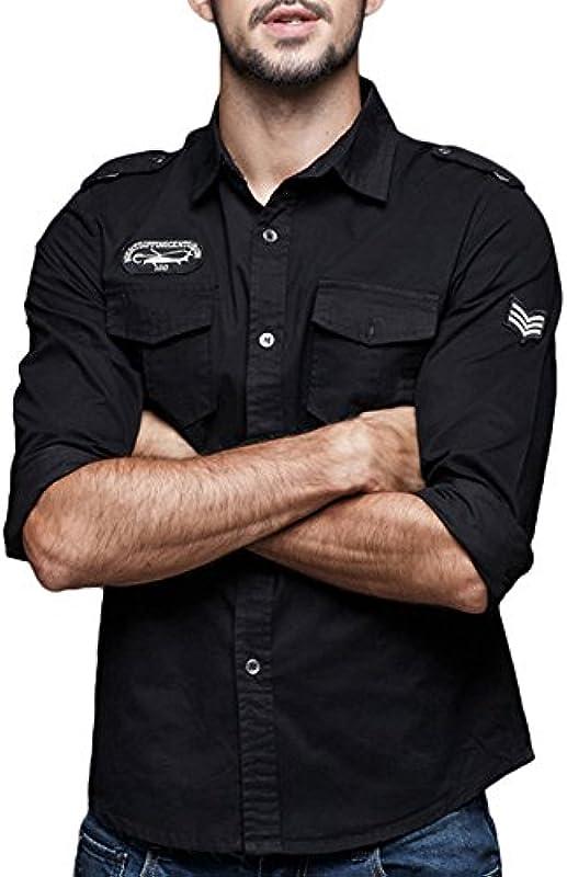 FIRSS męska koszulka z wycięciami na plecak, z okrągłym dekoltem, slim fitness: Odzież