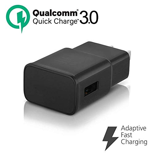 Adaptive Fast Charger, JULAM USB Travel Wall Charger Plug Power Adapter Quick Charging QC 3.0 Compatible BQ Mobile BQ-5504 Strike Selfie Max 5.5