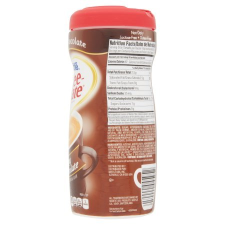 PACK OF 10 - COFFEE-MATE Creamy Chocolate Powder Coffee Creamer 15 oz. Canister by Coffee-mate (Image #2)