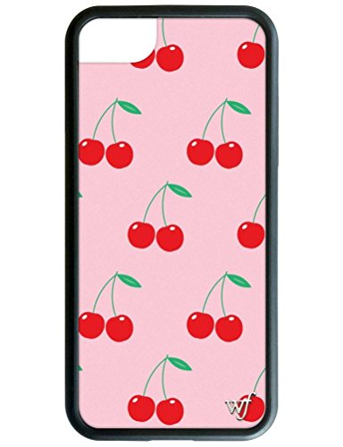 Cherry Cell Phone Case - Wildflower Limited Edition iPhone Case for iPhone 6 Plus, 7 Plus, or 8 Plus (Pink Cherries)