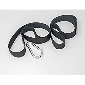 Well-Being-Matters 41A2et24VfL._SS300_ Jenum Enterprises Battle Rope Anchor Strap Kit (2 Strap), Heavy Duty Reinforced Nylon, Made in USA