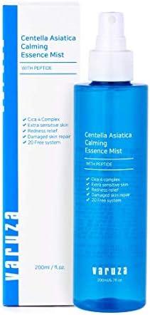 [varuza] Centella Asiatica Calming Essence Mist with Peptide Cica Sensitive Skin Redness Relief Upside Down Spray