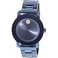 Movado Bold Light Blue Dial Ladies Watch 3600494